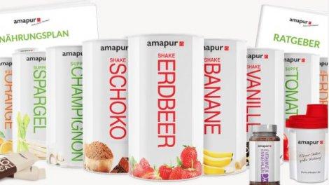 Amapur Diät - lecker und vielseitig abnehmen