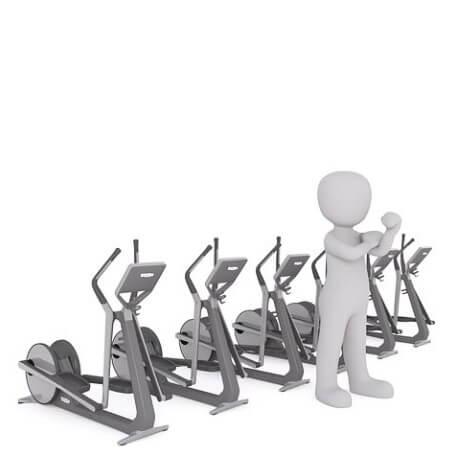 Crosstrainer fürs Muskeltraining