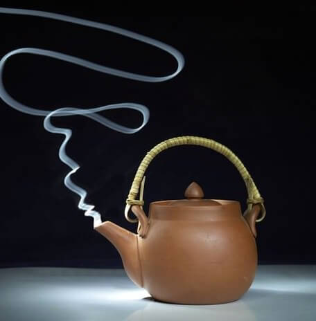 Mate Tee nicht mit kochendem Wasser aufbrühen