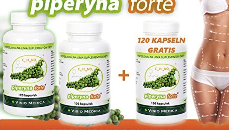 Piperine Forte - Abnehmen mit Pfeffer