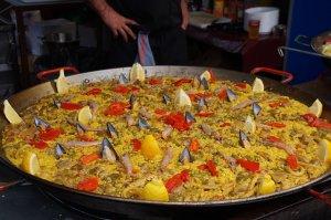 Safran in Paella