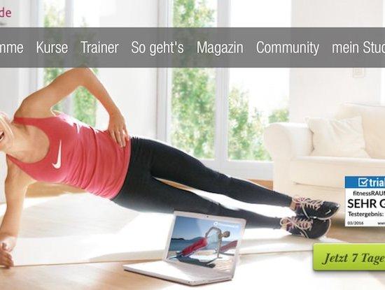 Fitnessraum.de - online trainieren