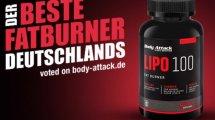 Der Lipo100 Fatburner von Body Attack