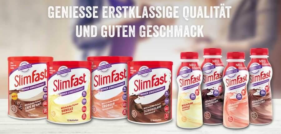 SlimFast Shakes zum leckeren Abnehmen