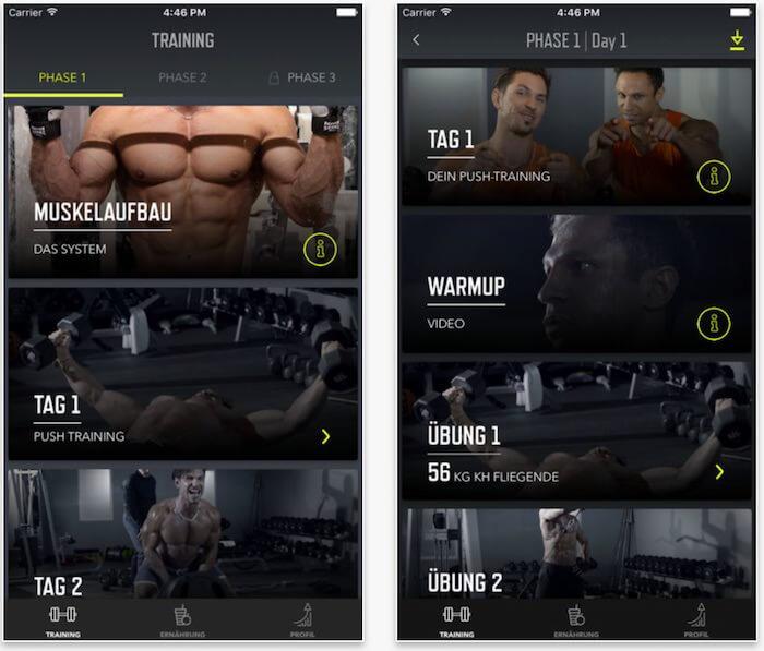 Xtreme Krass App - offline trainieren