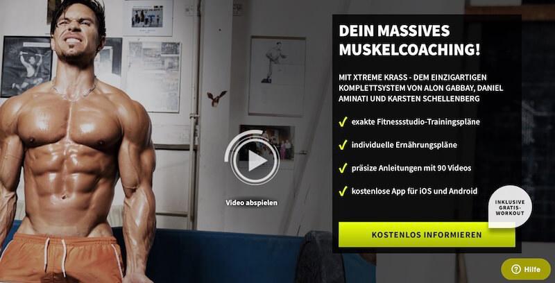 Xtreme Krass Muskelfitness