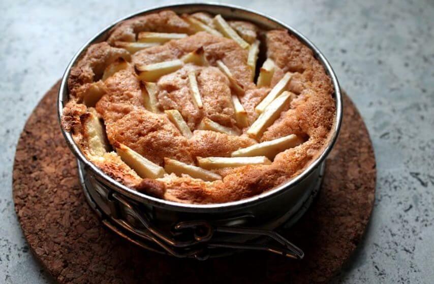 Diät: Schlemmen mit Apfelkuchen