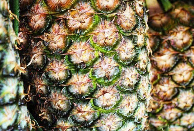 Reife, frische Früchte für die Ananas Diät