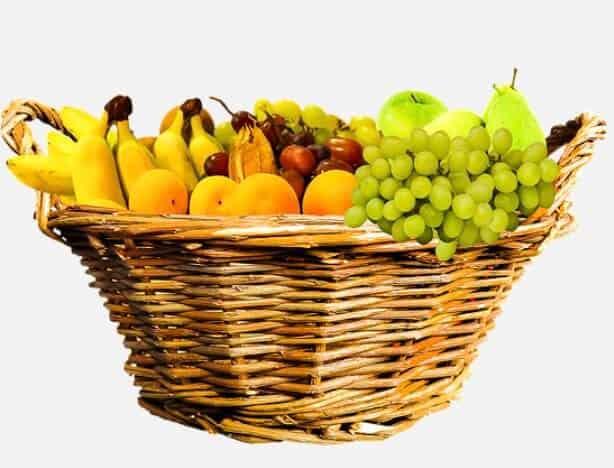 Obst Diät mit vielen Früchten