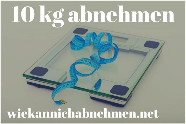 Diät um 10kg abzunehmen