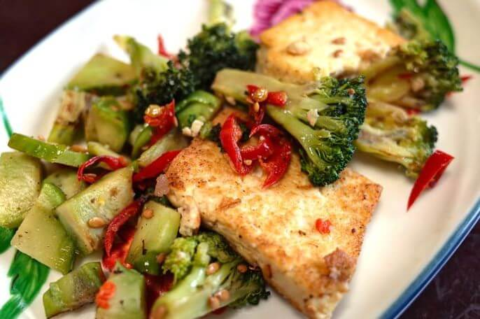 Leckere Tofu Diät