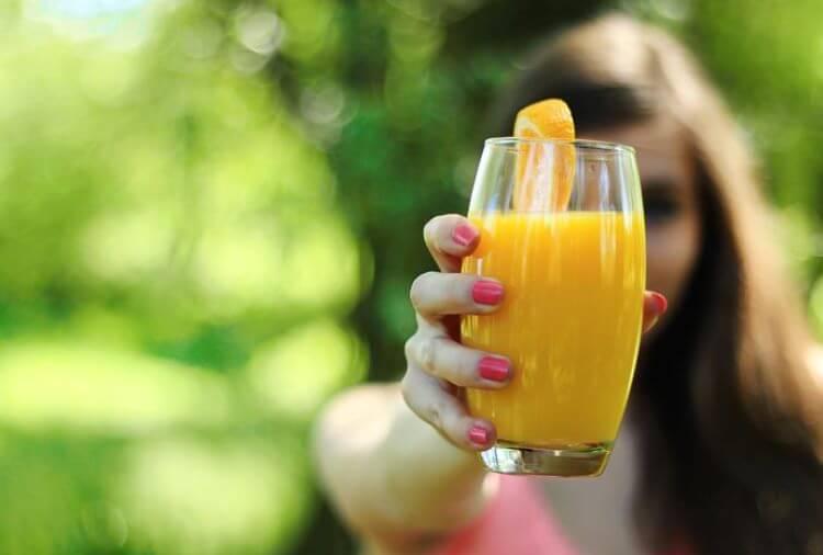 Obst- und Gemüsesäfte bei der Saft Diät