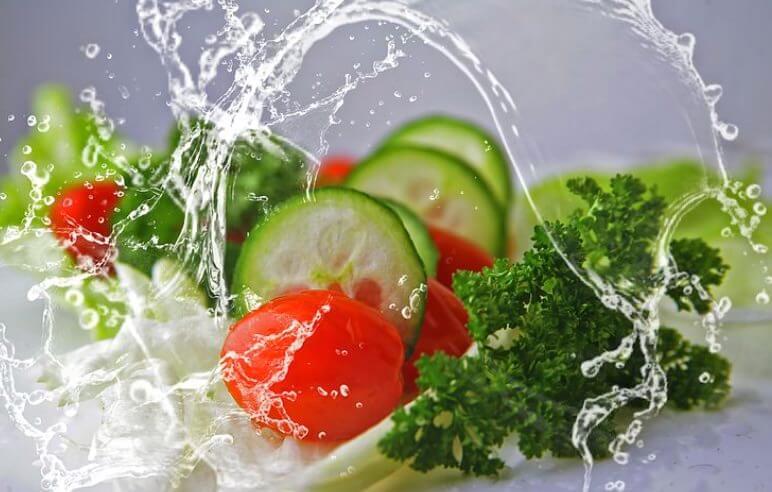 Abnehmen am Bauch durch eine gesunde Ernährung