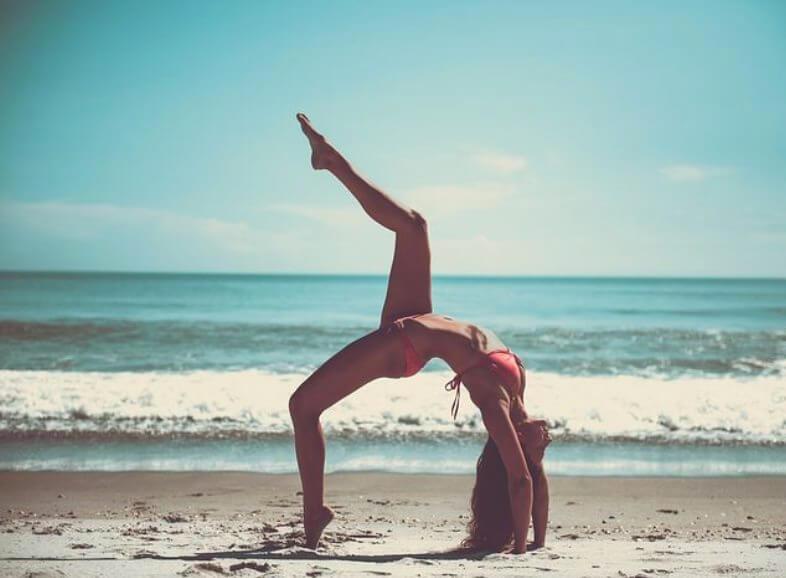 Bikinifigur nur mit Sport