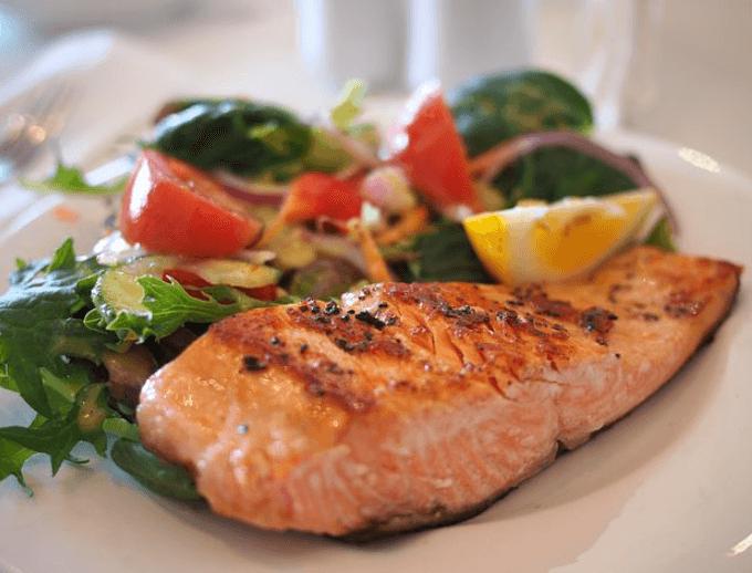 Fisch bei der Fleisch Diät