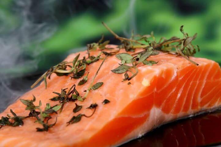 Fisch bei der Low Fat Diät