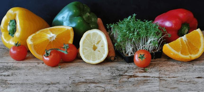 Vegetarische Diät fast ganz ohne tierische Produkte