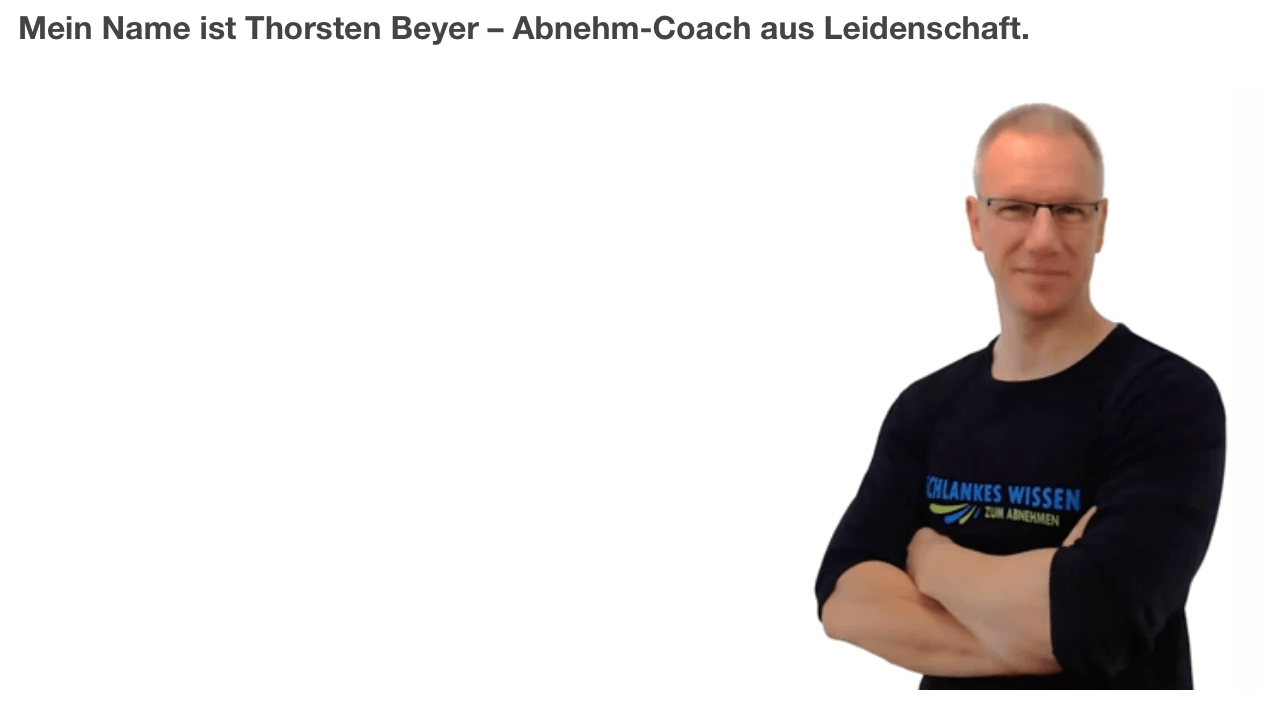 Dein Coach Thorsten Beyer